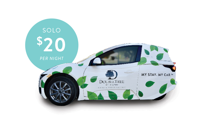 DoubleTree Victoria - My Stay. My Car - Solo Electric Car Rental